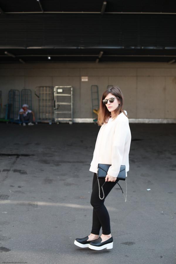 vienna wedekind jacket t-shirt sunglasses bag