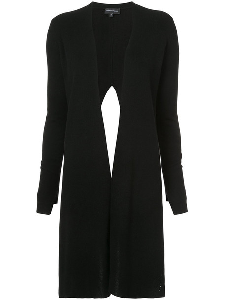 NARCISO RODRIGUEZ top knitted top women draped black wool
