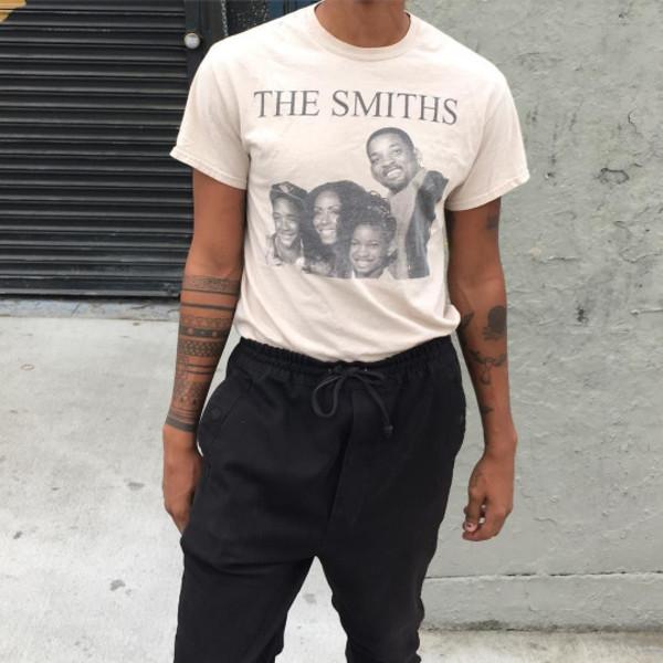 36fa48109 t-shirt will smith smiths black and white clothes the smiths willow smith  jaden smith.