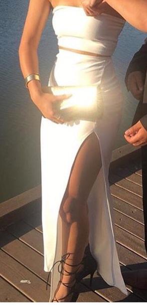 dress white dress white two piece set white top