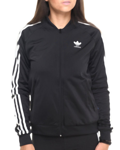 superstar track jacket by adidas. Black Bedroom Furniture Sets. Home Design Ideas