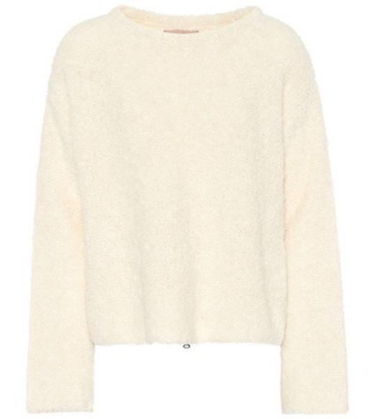 81hours Eileen wool-blend sweater in white