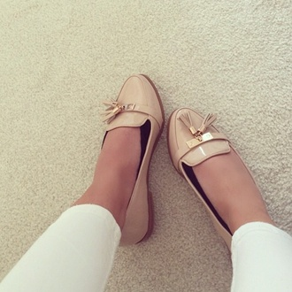 shoes flats girly fashion style preppy