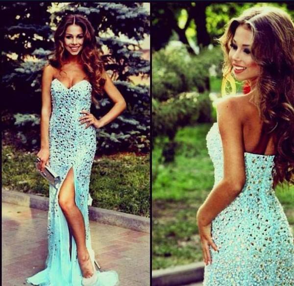 dress prom prom dress dimante gorgeous bag clothes