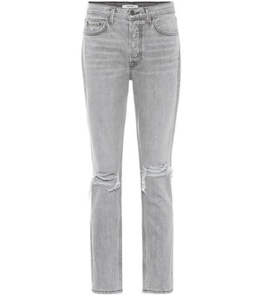 Grlfrnd Karolina high-waisted jeans in grey