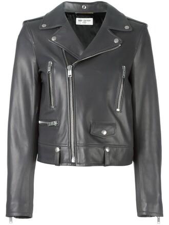 jacket women classic cotton grey