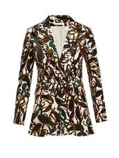 jacket,white,print,velvet,paisley