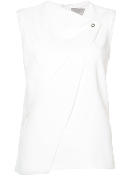 jason wu tank top top women white silk