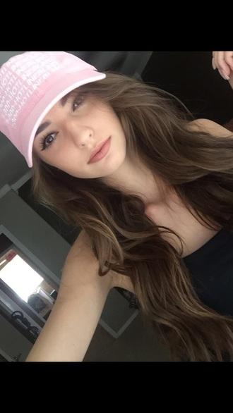 drake urban pastel pink pink hat