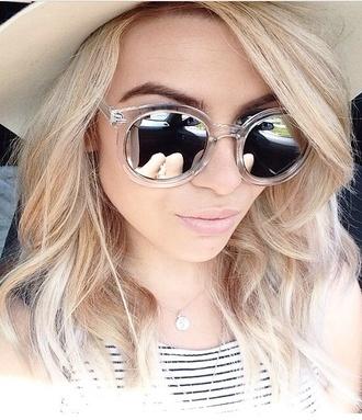 sunglasses mirror clear