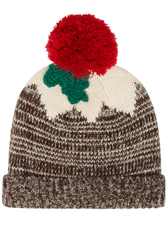Christmas pudding hat - Gifts  - Accessories  - Dorothy Perkins