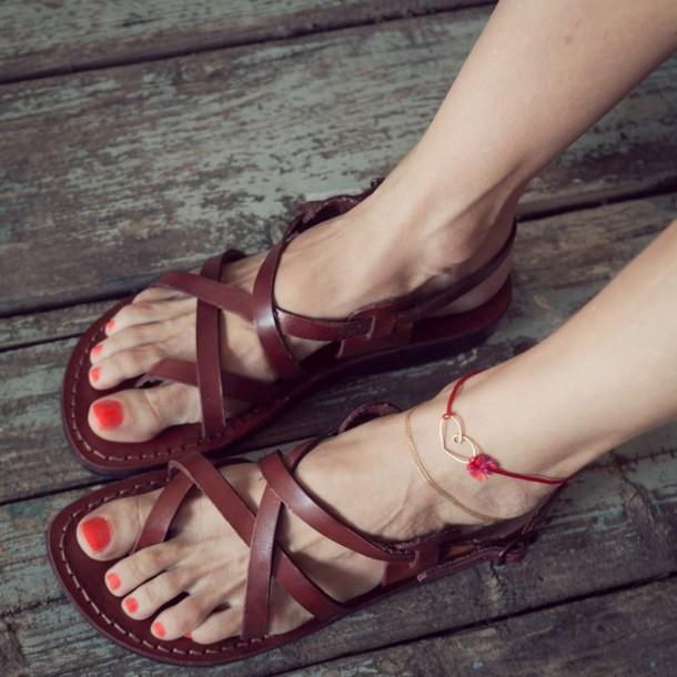 27c80559e989 shoes woman sandals woman shoes leather sandals flat sandals sandals summer  outfits jerusalem sandals women summer