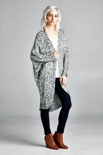 cardigan divergence clothing light grey cardigan batwing cardigan gray grey cardigan oversized cardigan oversized sweater fall sweater fall sweaters fall season streetstyle