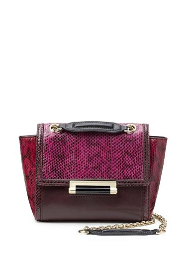440 Mini Colorblock Snake Crossbody Bag