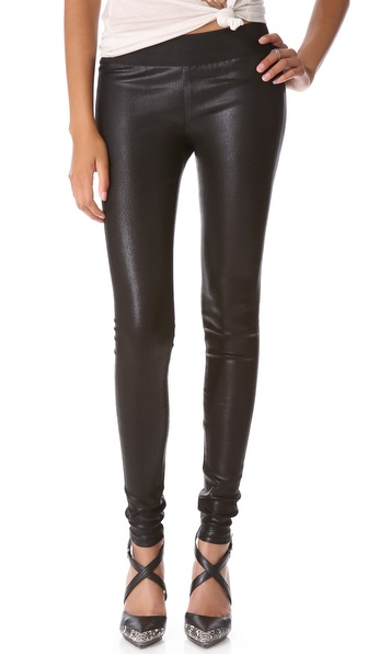 GOLDSIGN Zebra Coated Legging Jeans | SHOPBOP