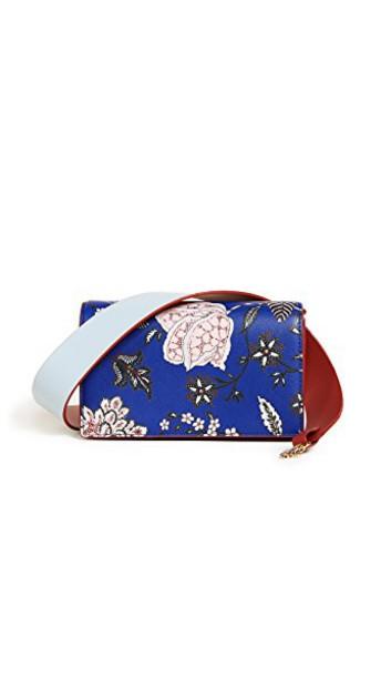 Diane Von Furstenberg cross bag blue