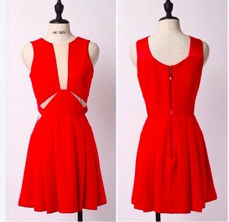 dress red dress cut-out party dress short red prom dresses short red homecoming dresses prom dress short prom dress sexy party dresses