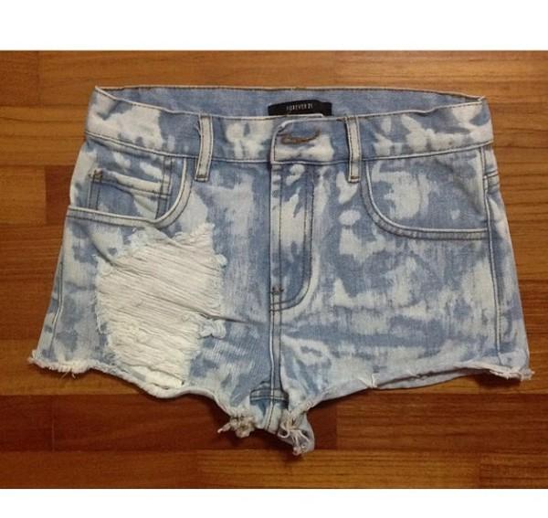 washed denim denim shorts jeans shorts
