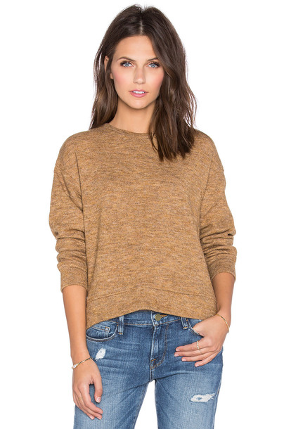 sweater pullover brown