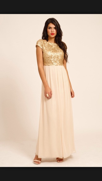 dress prom dress tumblr outfit gold sequins pink dress cute dress trendy maxi dress maxi skirt beautiful