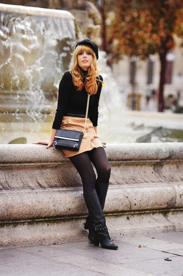 miss pandora blogger skirt shoes bag