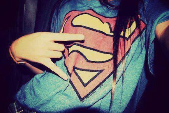 superman shirt girls clothes