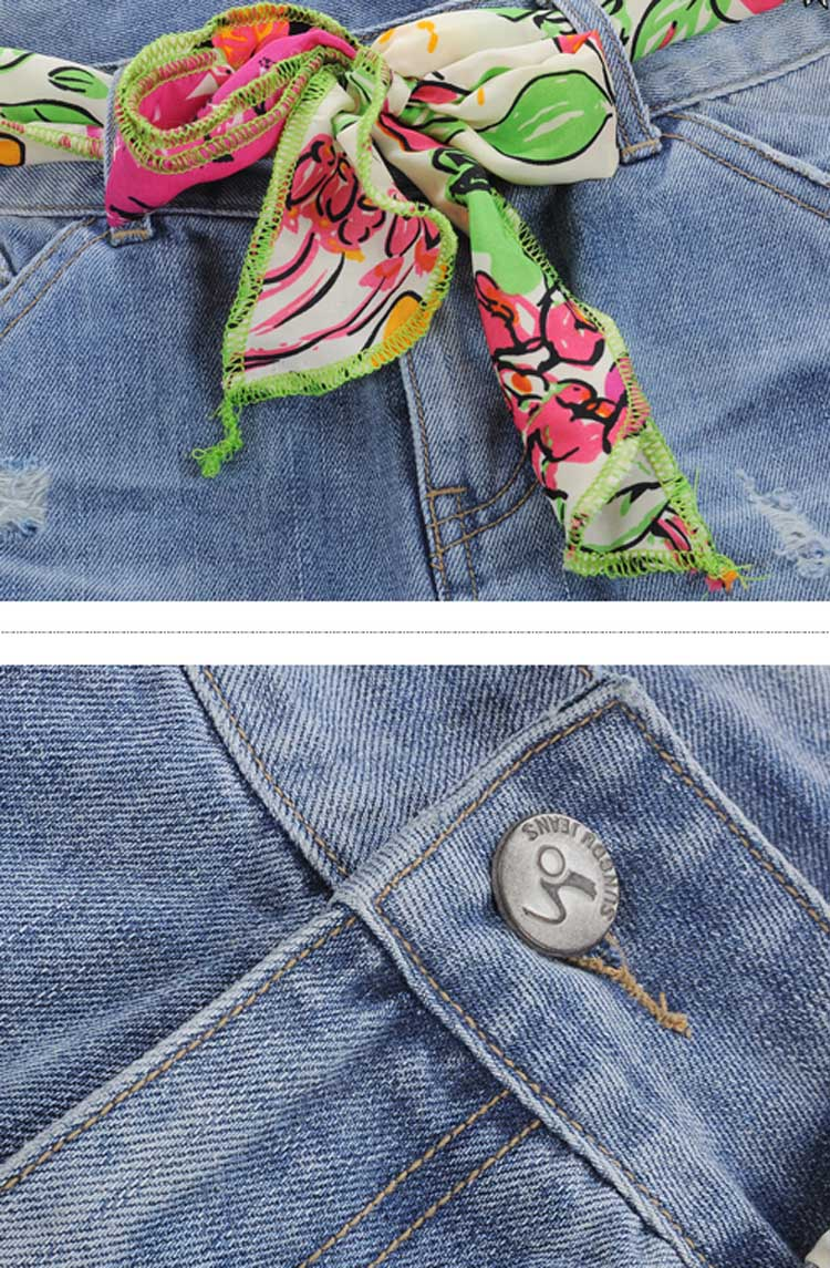 Favorite Acid Wash Denim Mini Skirt [FMCC0230] - PersunMall.com