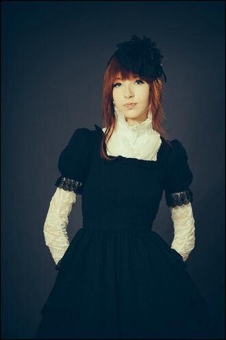 dress goth gothic lolita gothic dress black dress black