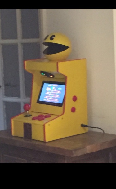home accessory pac man