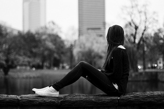 shoes clothes hairstyles converse black and white photography