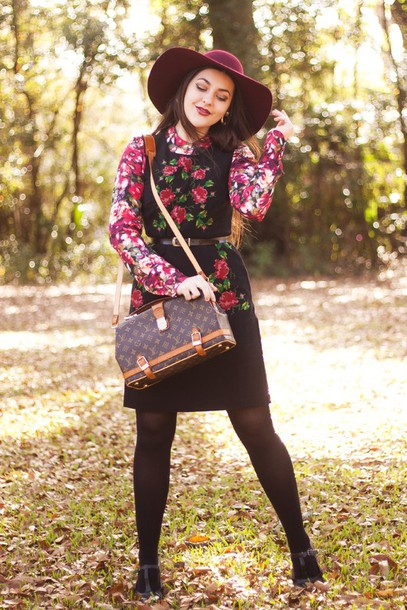 carly maddox blogger blouse dress skirt shoes hat bag