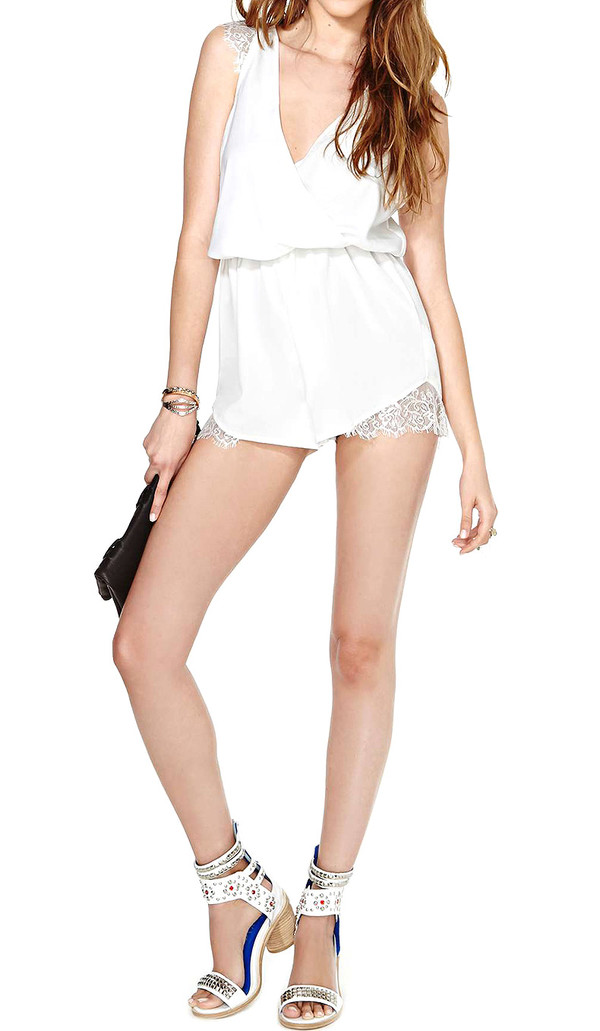 jumpsuit white summer outfits