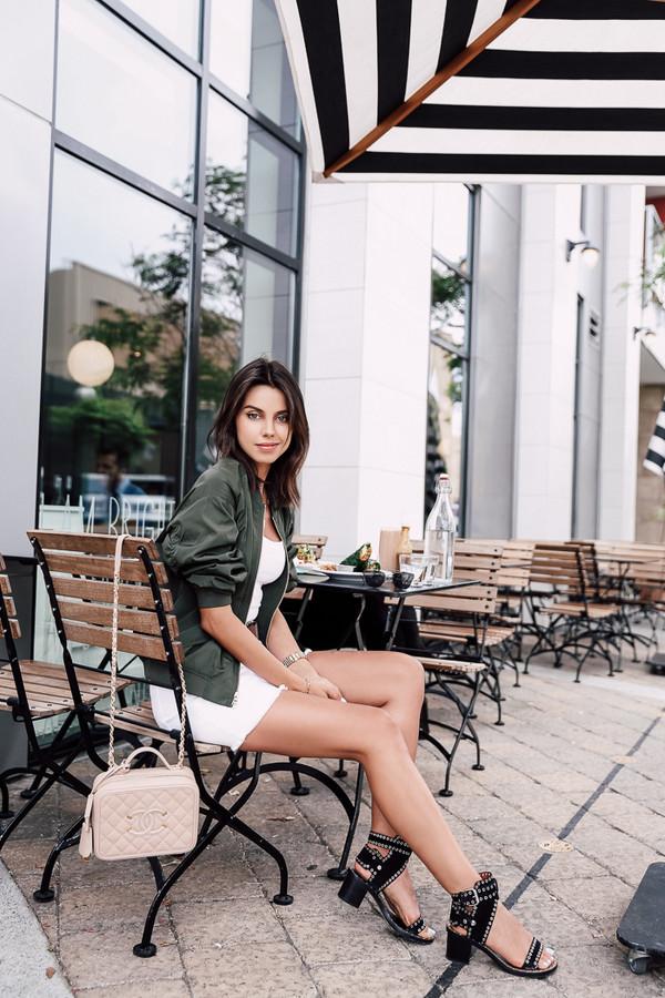 viva luxury blogger jacket skirt underwear shoes jewels