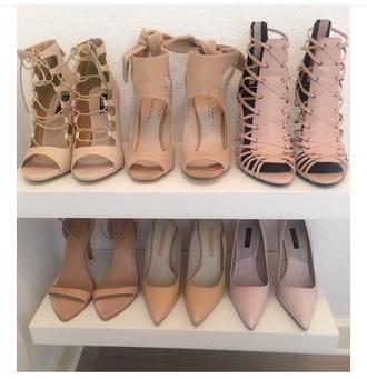shoes high heels nude pumps pretty little liars pretty