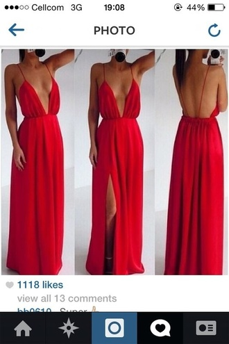 red dress cut out dress ebony lace dress maxi dress red maxi dress