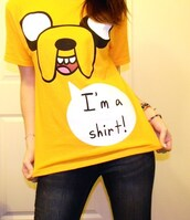 t-shirt,adventure time