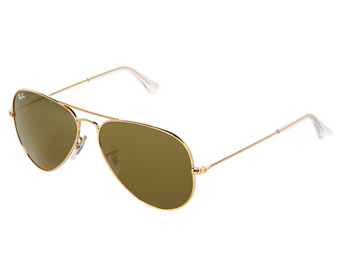 Ray-Ban 3025 Original Aviator size 58mm   Matte Gold/Blue Mirror - Zappos.com Free Shipping BOTH Ways