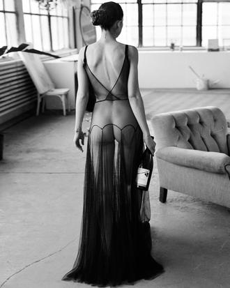 sheer dress sheer lingerie sheer lingerie underwear lbd black dress sexy see through