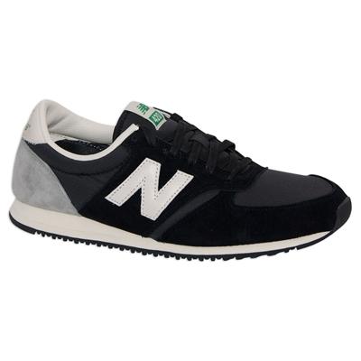 New Balance - U420 Classics - Black/ Grey - Maillots Rétro & Vêtements de Sport Vintage - Sportsaga