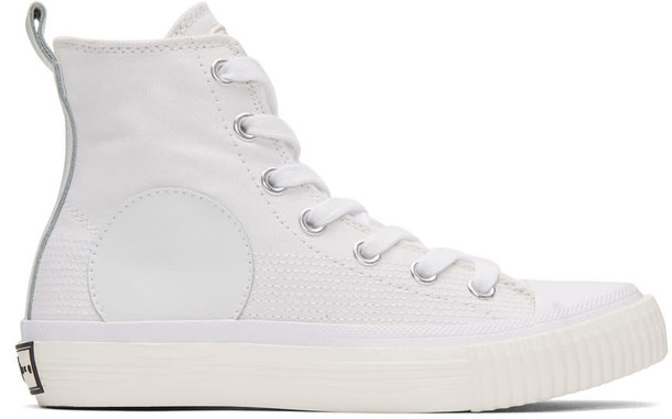 McQ Alexander McQueen high sneakers white shoes