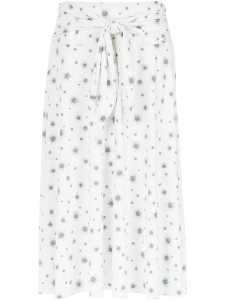 Olympiah skirt midi skirt women midi spandex white