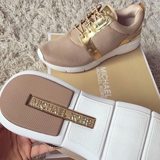 shoes michael kors brown tan running shoes micheal kors shoes gold. Black Bedroom Furniture Sets. Home Design Ideas