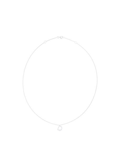 Alinka women necklace gold white grey metallic jewels