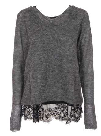 jumper lace sweater