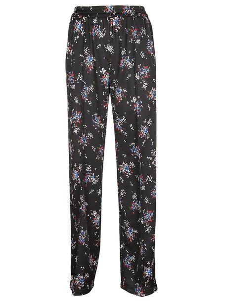 MSGM pants track pants floral