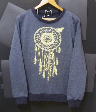 sweater dream catcher crew neck winter sweater sweatshirt cute sweater women tops men tops men sweater grey sweater long sleeve clothings women sweater jumper pullovers printed sweater women tshirt top