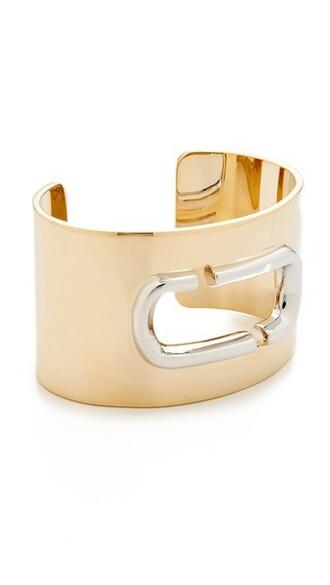 cuff statement cuff bracelet gold jewels