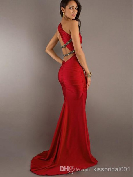 dress red dress evening dress 2014 evening dresses
