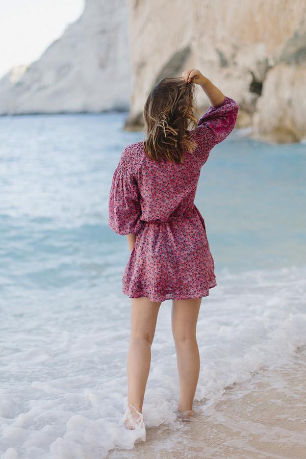 Smocked dresses tumblr long pink