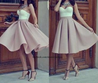 dress cute pastel white spring cool
